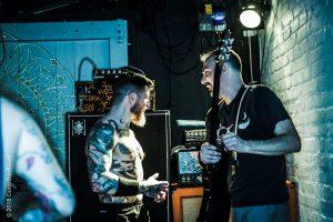 Aufrtitt der amerikanischen veganen straight edge Hardcore-Band SECT XVX im Club Waldmeister e.V. in Solingen.